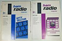 Ham Radio Magazine June 1978 and July 1978