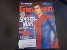 Andrew Garfield, Spider-Man - Entertainment Weekly Magazine 2011