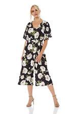 Wrap Culotte Jumpsuit - Wide Leg - Roman Originals Women