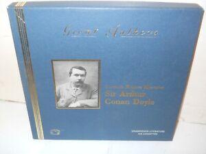 NEW ~ SHERLOCK HOLMES MYSTERIES Sir Arthur C. Doyle 6 Audio Cassettes~ Free S&H