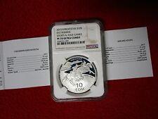 Kyrgyzstan 2015 Kyz Kuumai Sports & Folk Games .925 Silver Coin Asian  NGC PF70
