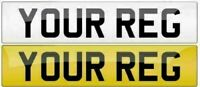 Pair Standard MOT UK Road Legal Car Reg Registration Number Plates
