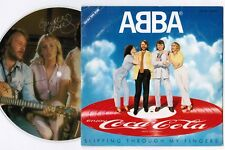 "ABBA Slipping Through My JAPAN-ONLY COCA-COLA PROMO PICTURE 7""  PD-105 Free S&H"