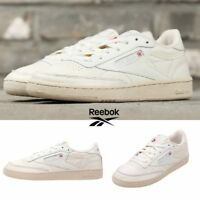 Reebok Classic Club C 85 Vintage Shoes Sneakers Ivory BS8243 SZ 5-12.5 Limited