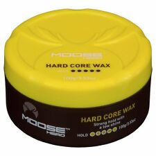 MOOSEHEAD HARDCORE WAX 100G STRONG HOLD AND LOW SHINE