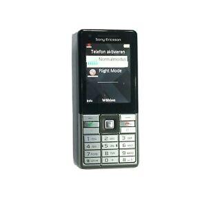 Sony Ericsson J105i - SILBER SCHWARZ Ohne Simlock Handy TOP ZUSTAND + ZUBEHÖHR