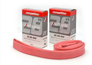 Vittoria competition, Latex-Rennradschlauch, verschiedene Größen, 19-23, 25-28mm