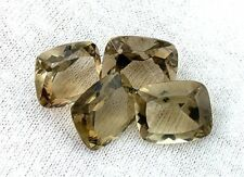 ONE 12x10 12mm x 10mm Cushion Brazil Light Smoky Quartz Gemstone Gem EBS3043