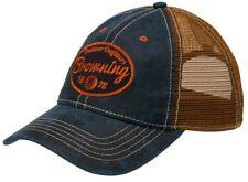 Browning Folsum Navy One Size Hat Cap Snapback Meshback NWT