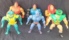 VINTAGE 1980'S MATTEL HE-MAN MOTU ACTION FIGURE VILLAINS LOT TRI KLOPS TRAP JAW!