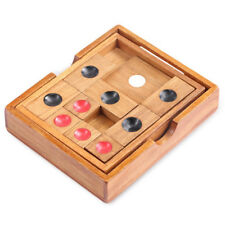 Classic Wooden Brain Teaser Slide Maze Puzzle Board Game Toy for Kids Jian