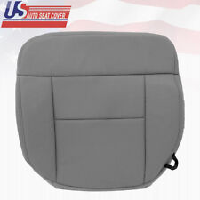 2007 Ford F150 Lariat Driver Side Bottom Replacement Cloth Seat Cover FLINT GRAY