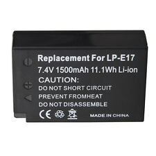 LPE17 LP-E17 Replacement Battery For Canon EOS M3 M5 760D T6i T6s 8000D Kiss X8i