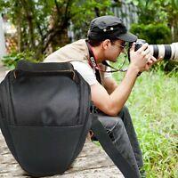 Waterproof Black Camera Case Shoulder Bag Backpack for Canon Nikon Sony SLR DSLR