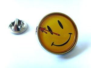 WATCHMEN SMILE LAPEL PIN BADGE TIE TACK CLIP BROOCH GIFT