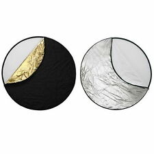 """32"""" 5-in-1 Light Mulit Collapsible disc Reflector 80cm"""