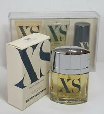 VINTAGE PACO RABANNE XS POUR HOMME 50 ML EDT SPRAY PLUS 3 PIECE CARE KIT, 1993