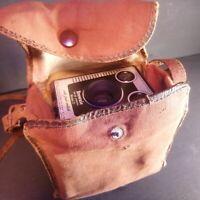 KODAK BROWNIE SIX-20 Model D - Vintage Box Camera (England) + Bags * PARTS