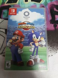 Mario & Sonic at the Olympic Games Tokyo 2020 Nintendo Switch *Case Only,No Game