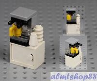 LEGO - Espresso Machine Coffee Maker Cup - Food Drink Kitchen Appliance Minifig