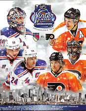 2012 WINTER CLASSIC OFFICIAL PROGRAM NEW YORK RANGERS VS PHILADELPHIA FLYERS