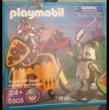 PLAYMOBIL 5805 EN CAJA ORIGINAL DESCATALOGADA. LUCHA DE CABALLEROS   - 4/9/15