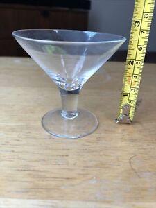 """Tini sampler 2 1/2"""" Plain Cocktail Mini martini glass"""