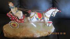 RARE-Clown-Horse-Cart-Ben-Him-Sculpture-Figurine-Statue