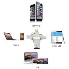 P93 4in1 TF OTG Kartenleser Adapter Flash Drive Light ning USB Typ C micro USB