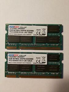 Old Imac 2 x 2gb DDR2 ram modules
