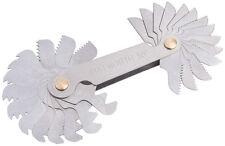 Genuine Draper 28 Lame 4 - 62 TPI UNF et UNC screwpitch Gauge Set   51071