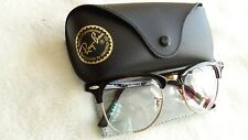 BRAND NEW! RAY-BAN RB 5154 2000 EYEGLASSES FRAME SIZE 51 MM BLACK GOLD ITALY