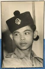 More details for vintage photo malaysian policeman police officer malaysia 1940's-1950's