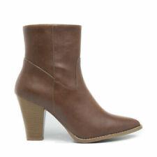 Bottes et bottines pointus cuir pour femme