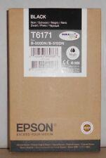 ORIGINALE Epson t6171 Inchiostro Black per b-500dn b-510dn c13t617100 09.2018 B OVP