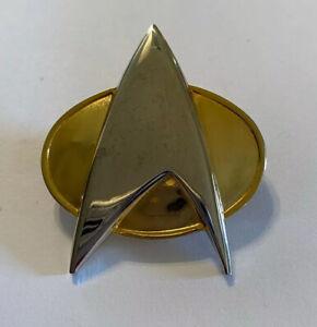 Star Trek Next Generation Communicator Badge Officially Licensed Pin