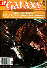 Galaxy SF Digest-November, 1976-Frederik Pohl-Gateway, Larry Niven