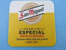 Beer Collectible Coaster ~ SAN MIGUEL Cerveza Internacional ~ The PHILLIPINES