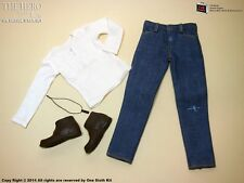 OneSixthKit 1/6 Scale The Hero Save Us Casual Wear For Hot Toys Body Shirt Jeans