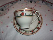 Eschenbach New England Christmas Time Kaffeetasse mit Untertasse Weihnachten