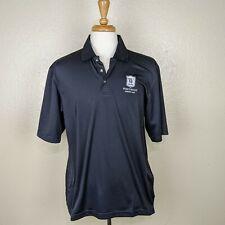 Pebble Beach Westwood Country Club Austin TX Mens Golf Polo Shirt, L Large Black