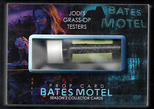 BATES MOTEL SEASON 2 Breygent SDCC PROP CARD #SD-BP5 GRASS-OP TESTER (#2 of 4)