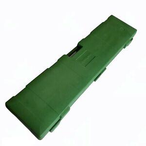 VINTAGE REMINGTON HARD PLASTIC GREEN RIFLE CASE  870 760 7600 740 7400 742