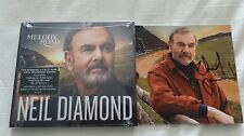 New Neil Diamond Melody Road signed cd The Art of Love Something Blue Pop Rock