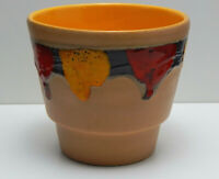 Vintage Retro Lava Plant Pot Planter West German Pottery Mid Century Modern