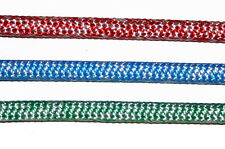 SUPER BRAID - POLYESTER COVER AND UHMwPE ( SPECTRA) CORE. Sell by foot.