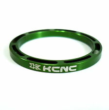 gobike88 KCNC Hollow Design Headset Spacer, 3mm, Green, Made in Taiwan, 658
