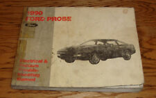 1990 Ford Probe Wiring Diagram EVTM Manual 90