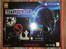 SONY PS4 PRO LIMITED EDITION STAR WARS BATTLEFRONT 2 NUOVA SENZA GIOCO