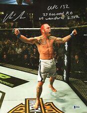 Chris Leben Signed UFC 11x14 Photo BAS Beckett COA Picture Autograph :27 132 KO